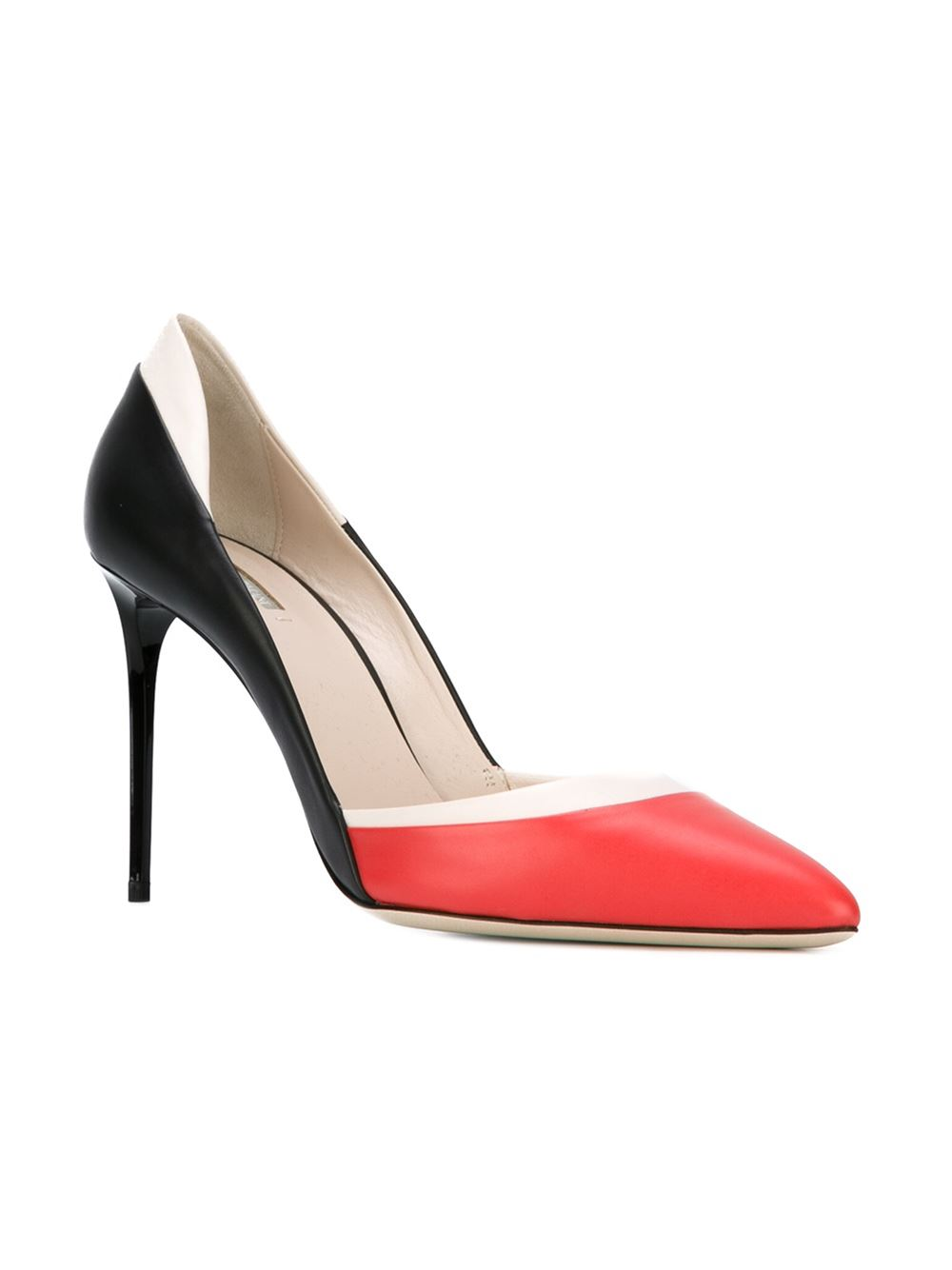 Giorgio Armani Color Block Pumps
